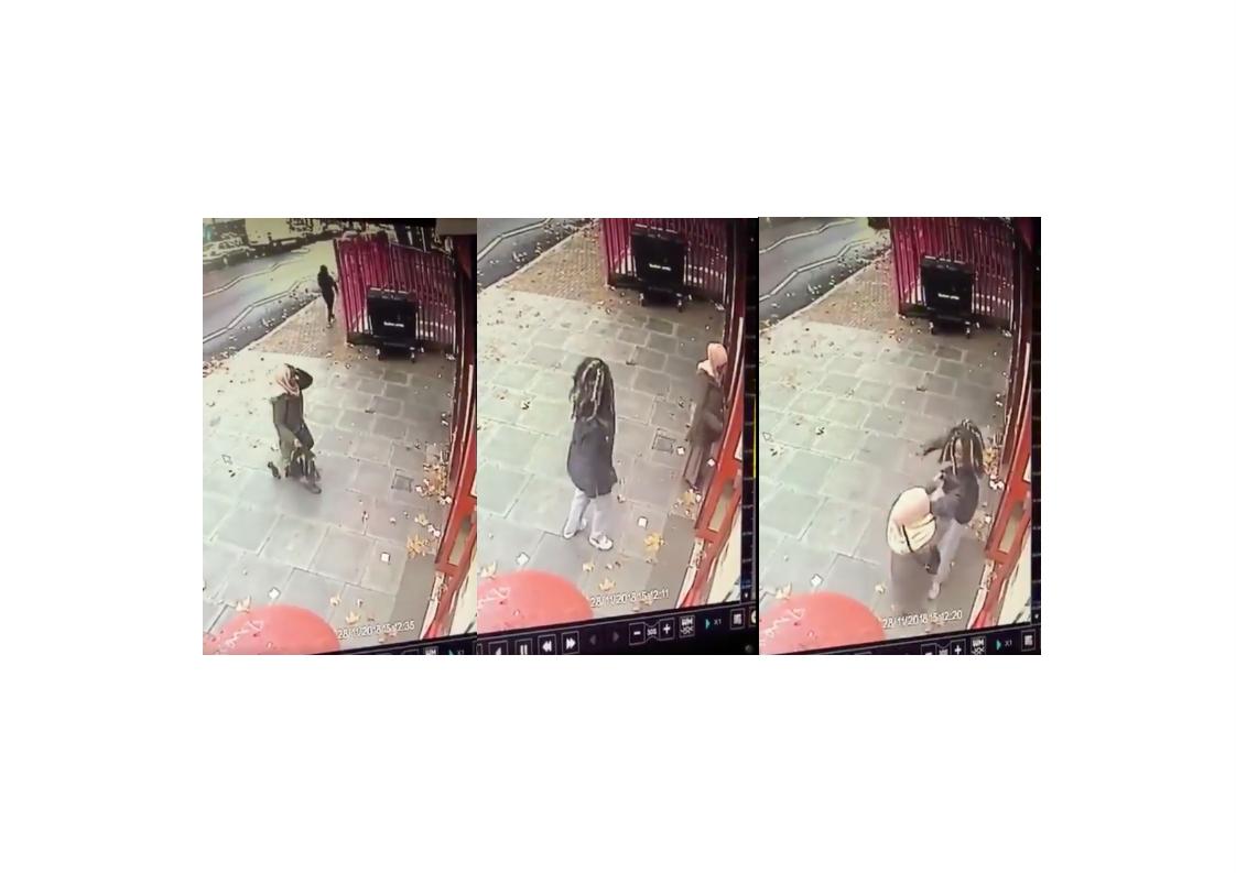 اعتداء على مسلمة في لندن