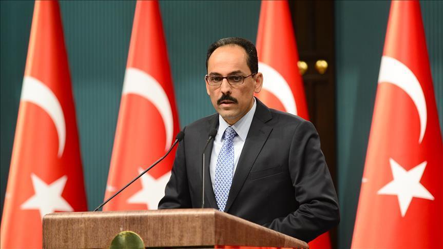 العرب والغرب يتلقون رسالة من الرئاسة التركية