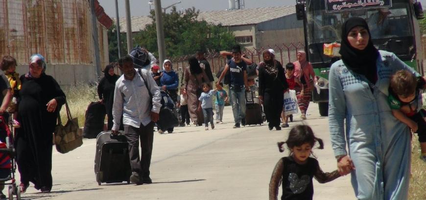 شبكة تهريب بشر على الحدود التركية السورية