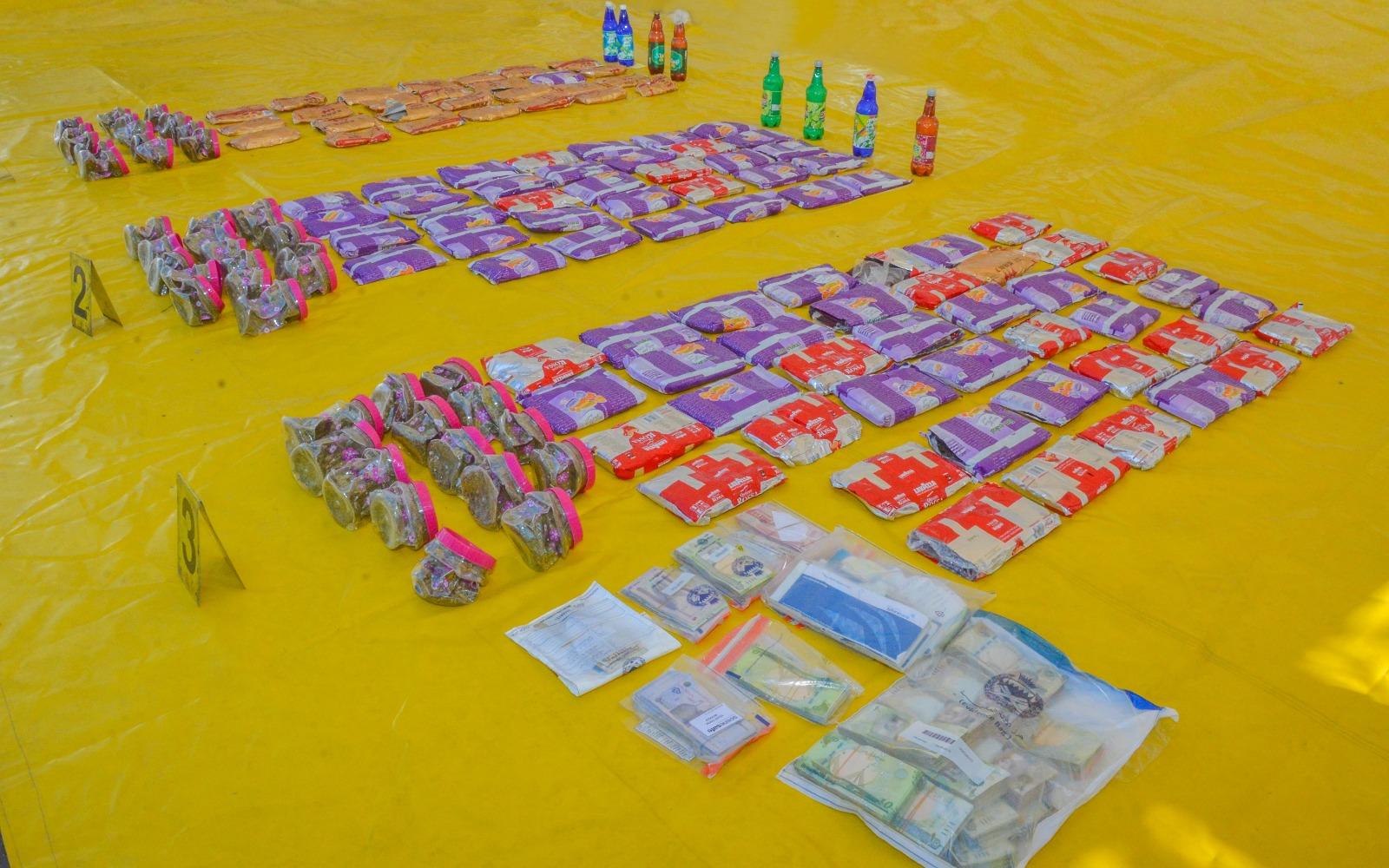 ضبط كمية مخدرات كبيرة في سواحل البحرين
