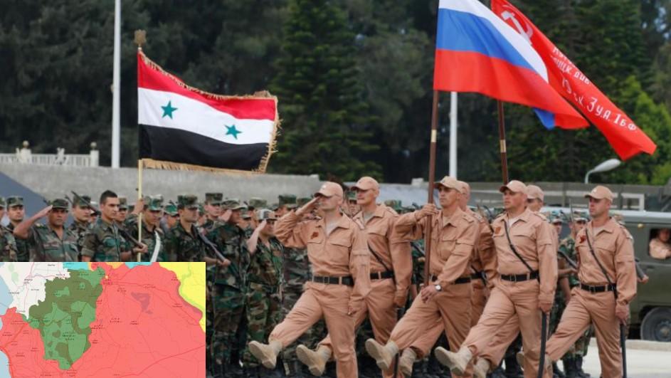الفيلق الخامس يسيطر على حدود المنقة العازلة مع إدلب