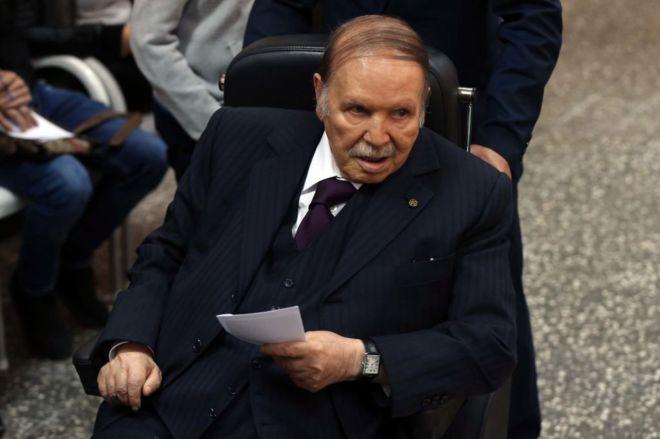 مظاهرات في الجزائر ضد قرار بوتفليقة