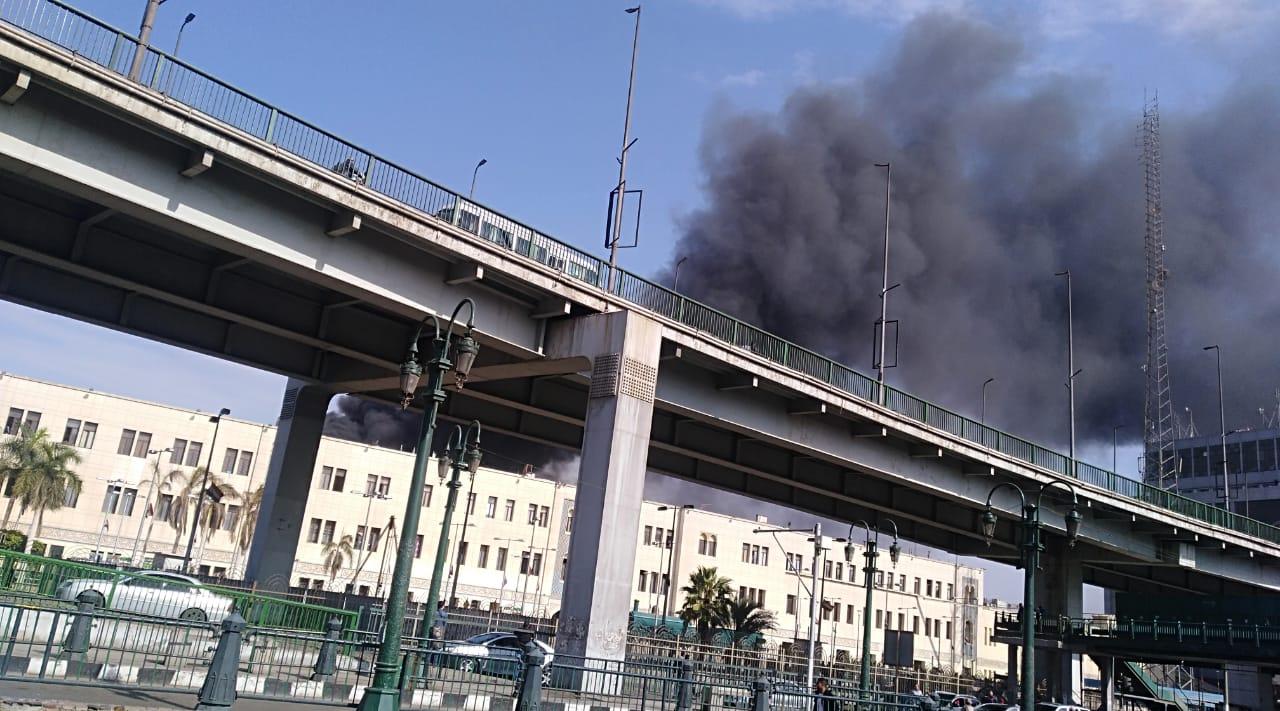 صرف تعويضات على أسر ضحايا حريق محطة مصر
