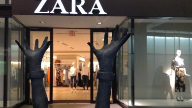 Photo of شعار شركة الملابس الشهيرة ZARA الجديد يثير سخرية متابعيه