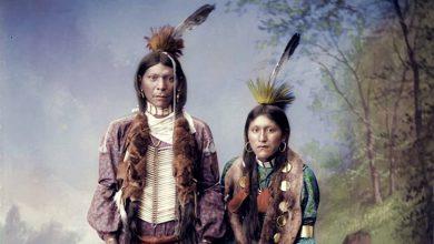 Photo of صور ملونة للشعب الأمريكي الأصلي قبل أكثر من قرن