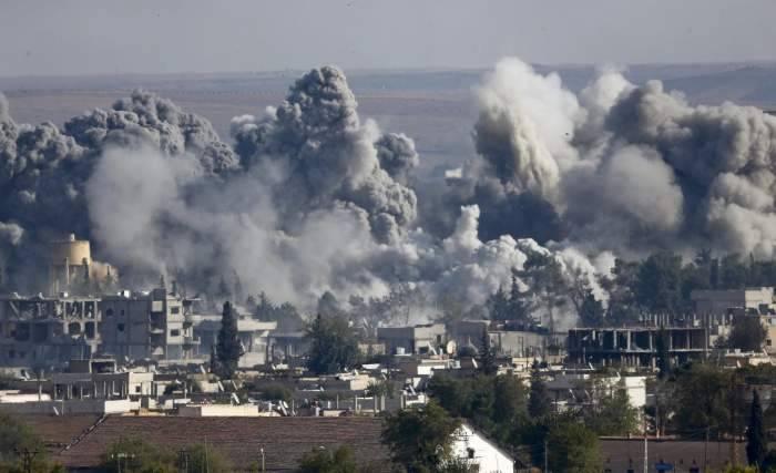غارات التحالف الدولي تؤدي لمجزرة بين المدنيين