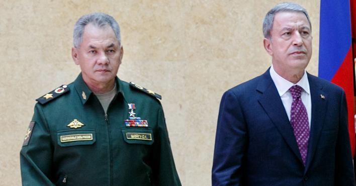 وزير الدفاع التركي يستقبل نظيره الروسي
