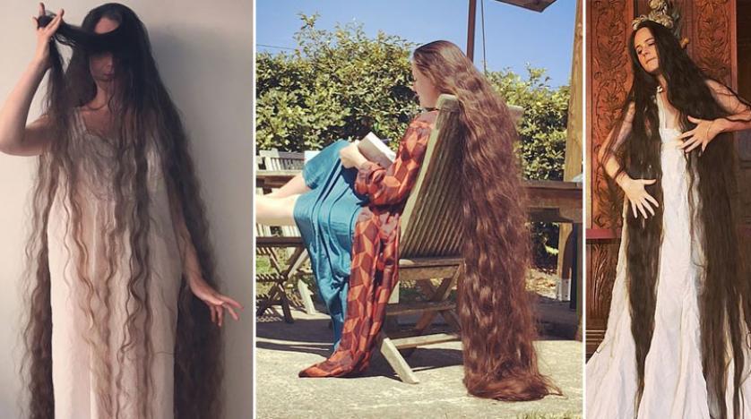 لسبب غريب.. سيّدة بريطانية تمتنع عن غسل شعرها لـ ٢٠ عاماً.. وهكذا تعتني به!