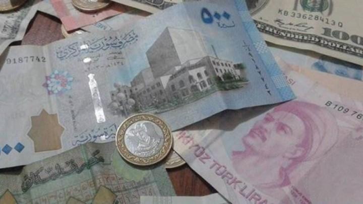 سعر صرف الليرة السورية والليرة التركية