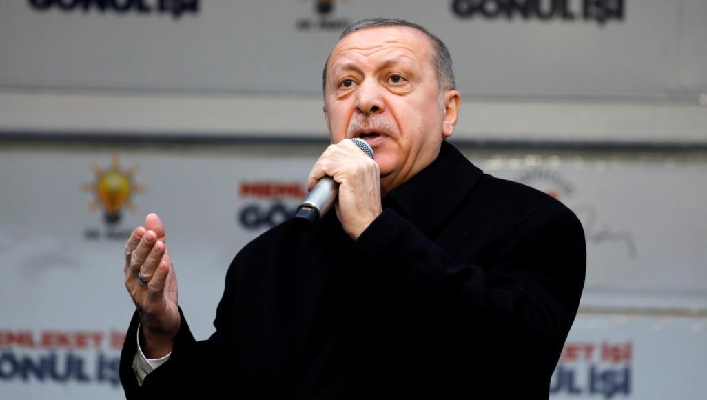 أردوغان يرد على منتقدي اللغة العربية