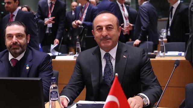 كلمة وزير الخارجية التركي في مؤتمر حول سوريا