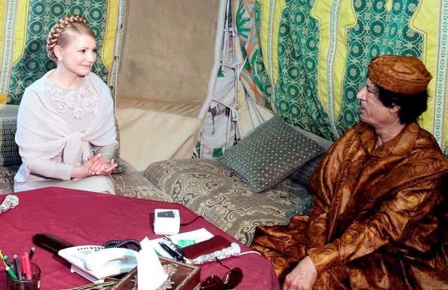 خيمة القذافي تعرض للبيع