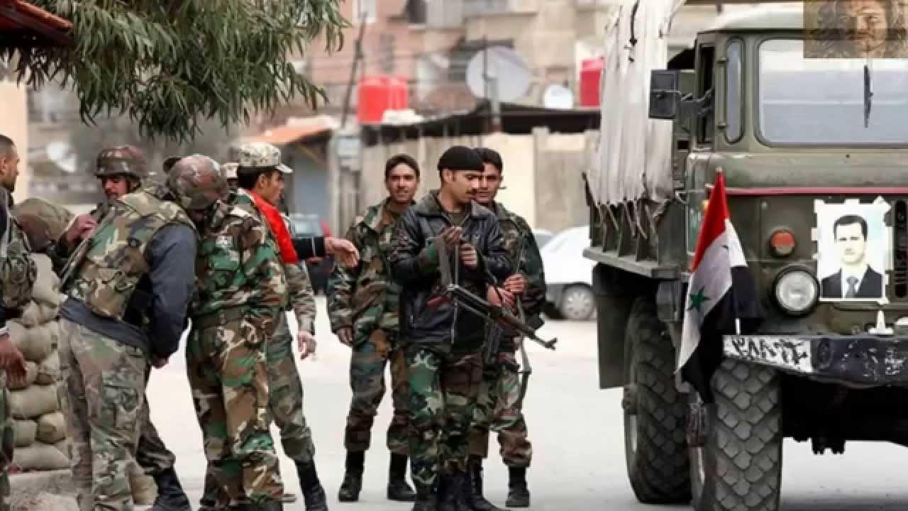 الفيلق الخامس يرد عناصر من إيران في حوض اليرموك