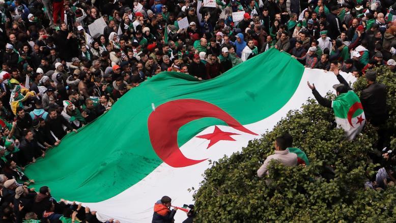 الجمعة السابعة للحراك الشعي في الجزائر
