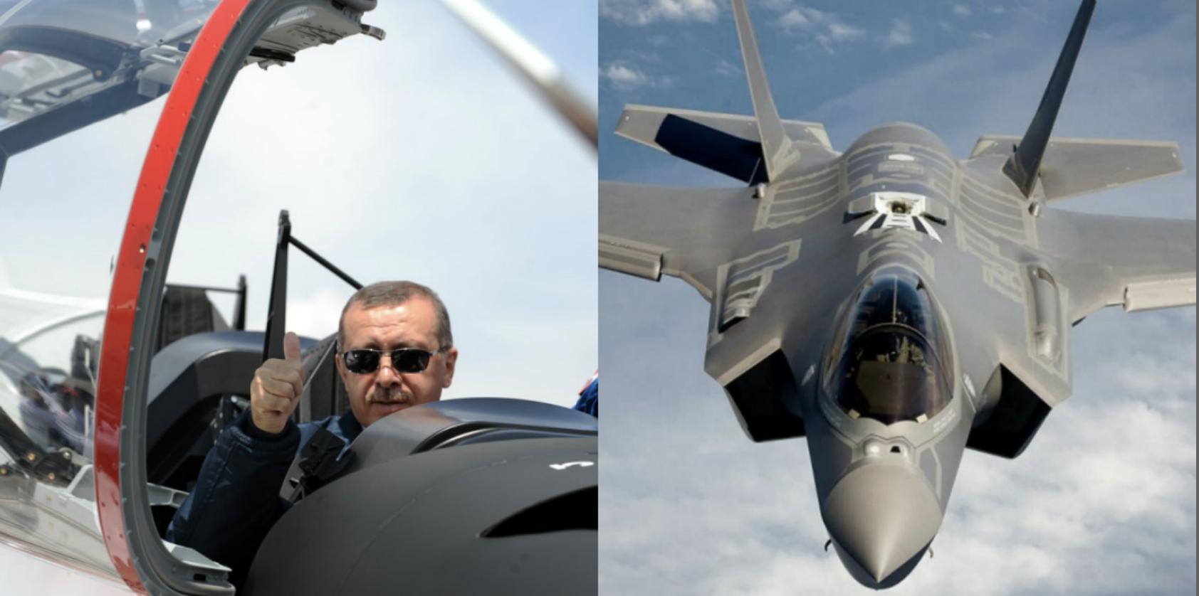 الرئيس أردوغان طائرات إف 35 الأمريكية