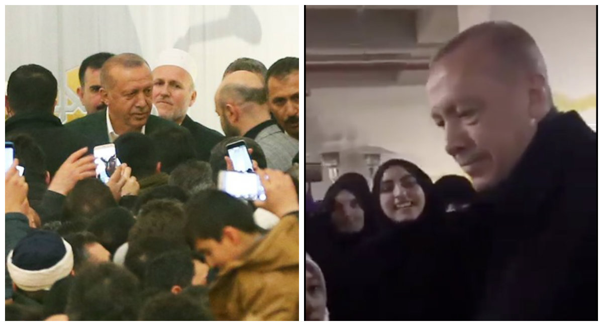 تركيات الدعاء للرئيس أردوغان