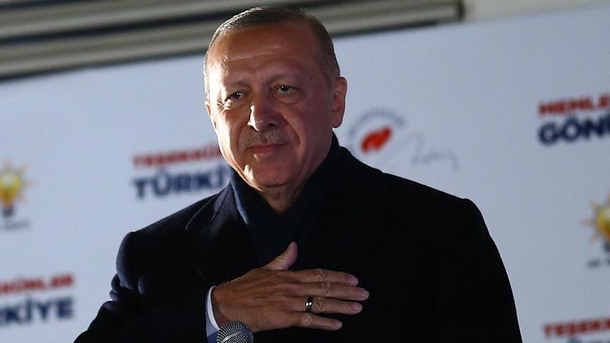 فوز حزب العدالة والتنمية بانتخابات تركية المحلية