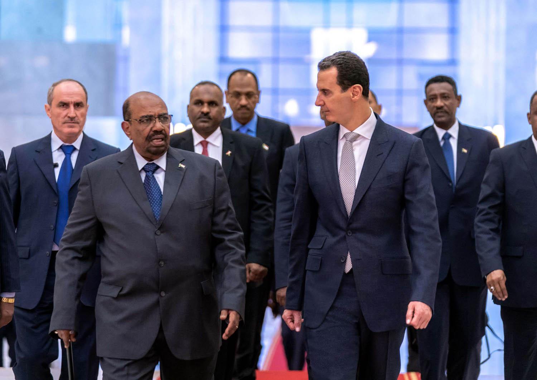 عمر البشير بشار الأسد