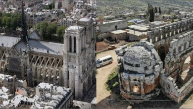 "Photo of كنيسة ""قلب لوزة"" السورية.. هل ألهمت بناة كاتدرائية نوتردام؟"