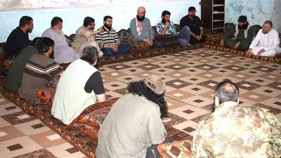 اجتماع قادة الفصائل شمال سوريا