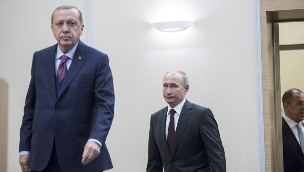 اتصال بين أردوغان و بوتين