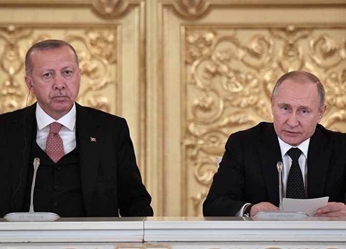 لقاء بين أردوغان و بوتين حول إدلب