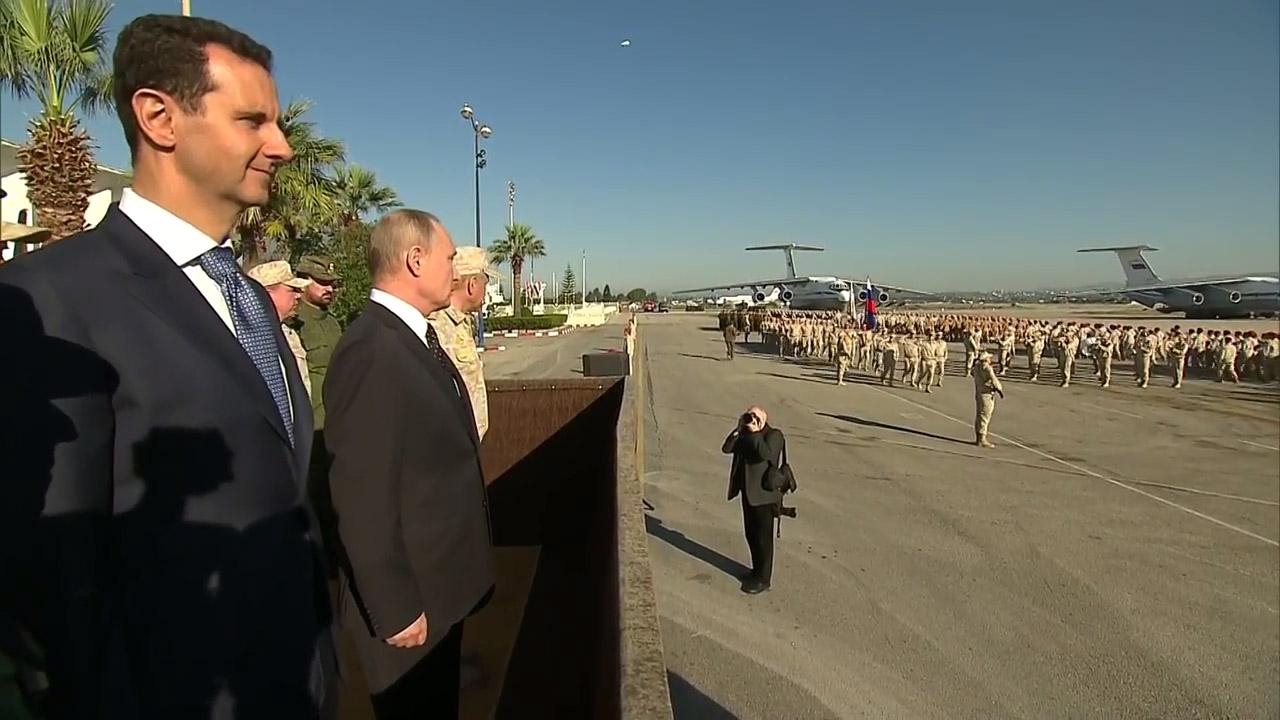 قاعدة عسكرية روسية في حماة
