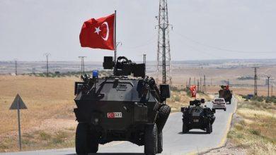 رتل عسكري تركي يدخل ريف حماة