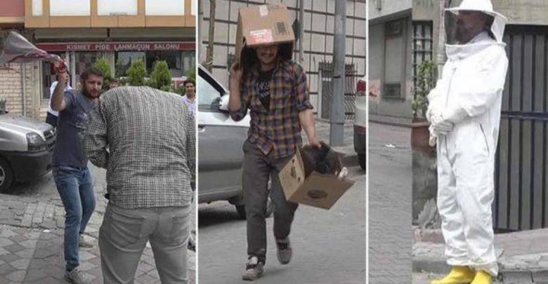 سوري يربي نحل في إسطنبول
