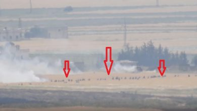 Photo of للمرة الثانية خلال يومين.. فيديو يوثق فرار المئات من جنود الأسد في كفرنبودة