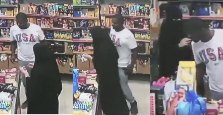 شاب يتحرش بفتاة في الدمام السعودية