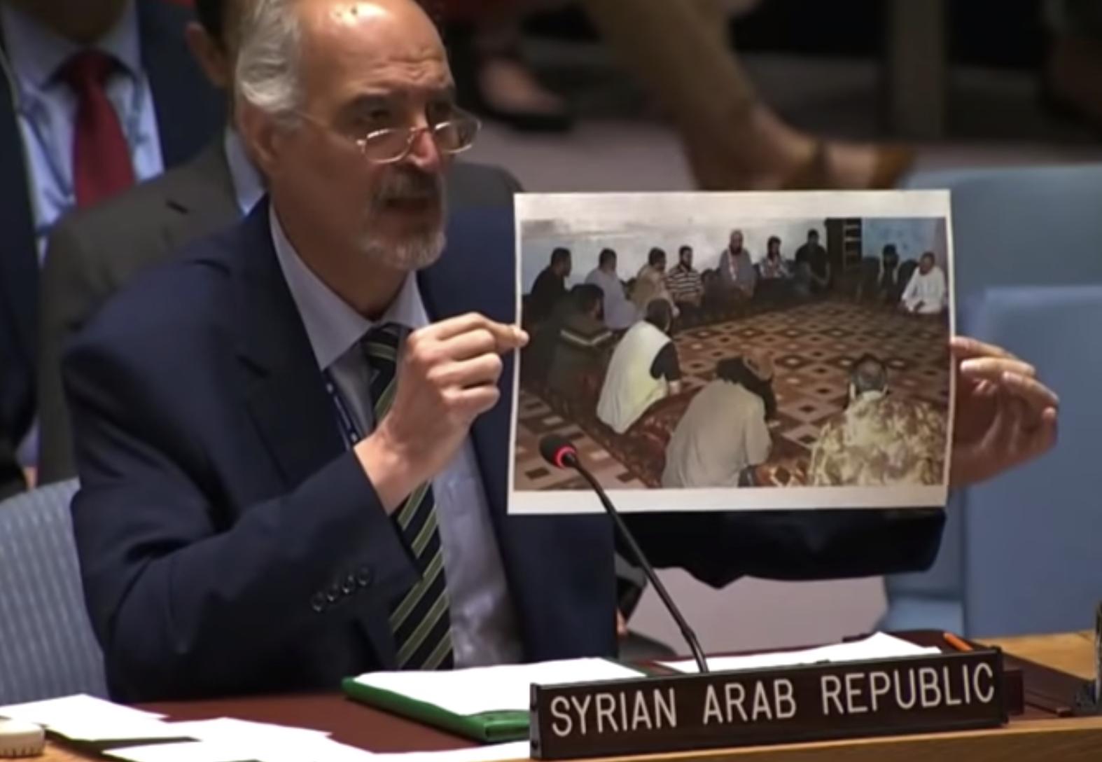 بشار الجعفري يعلق على اجتماع قادة المعارضة