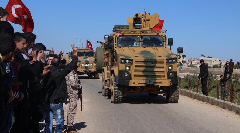 وفد عسكري تركي يزور إدلب