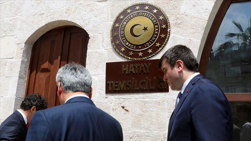 الخارجية التركية تفتتح مكتباً في هاتاي