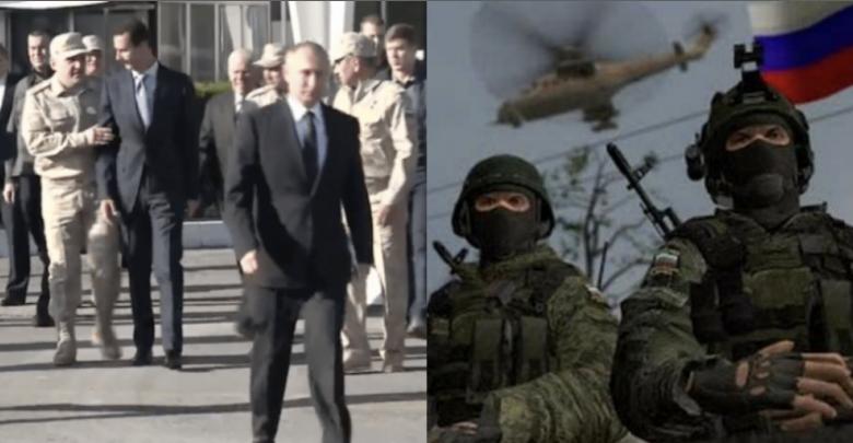 القوات الروسية الخاصة في إدلب