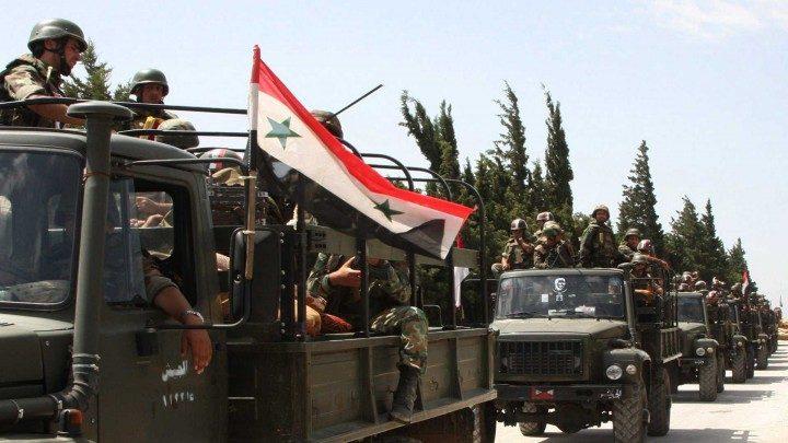النظام السوري يرسل تعزيزات عسكرية إلى ريف حماة