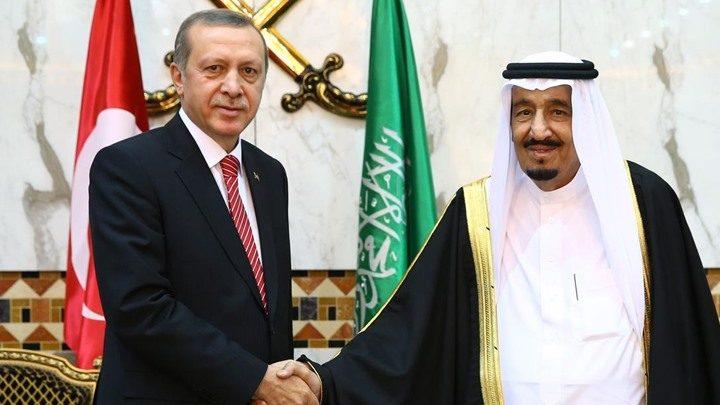 أردوغان يتصل بالملك سلمان