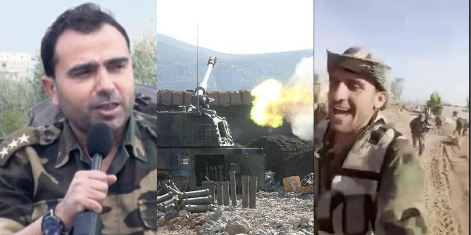 النقيب عبد السلام عبد الرزاق ومدفعية تركية