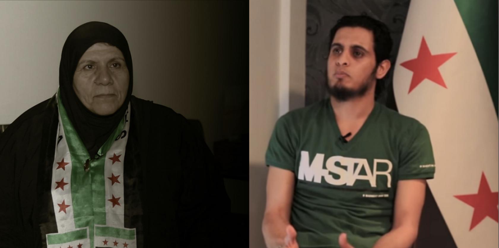 خنساء حوران ترثي عبدالباسط الساروت