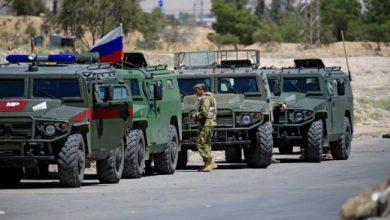 دورية روسية في الأراضي السورية