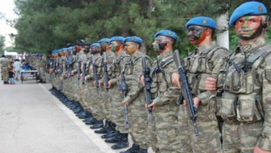 قوات كوماندوز تركية
