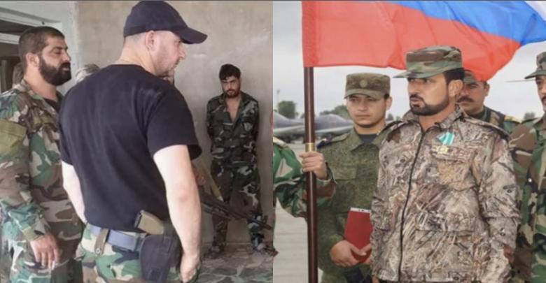 ماهر الأسد قائد الفرقة الرابعة و سهيل الحسن قائد قوات النمر