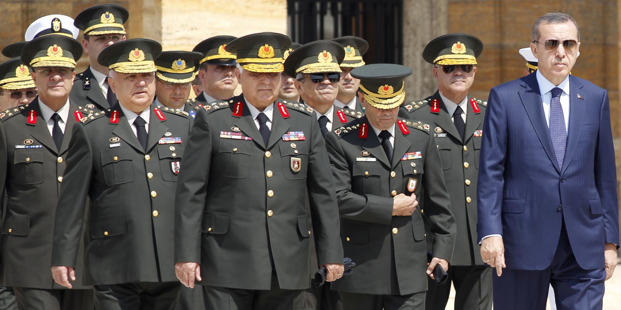 مجلس الشورى العسكري التركي يجتمع