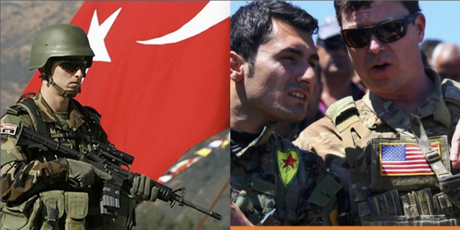 خلاف بين تركيا و أمريكا على المنطقة العازلة