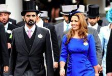 الأميرة هيا والشيخ محمد بن راشد