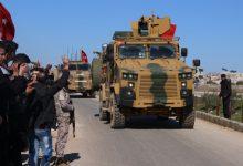 الجيش التركي يرسل تعزيزات إلى مورك