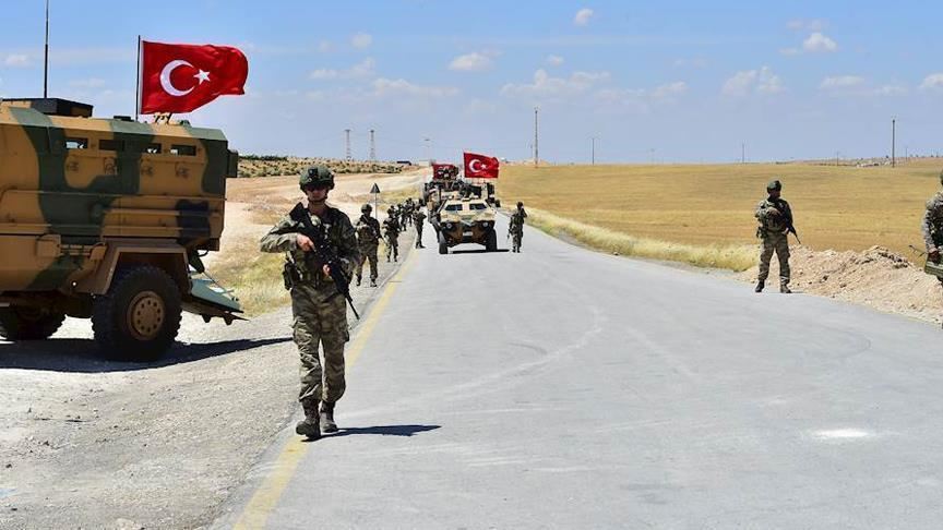 انتشار الجيش التركي في إدلب