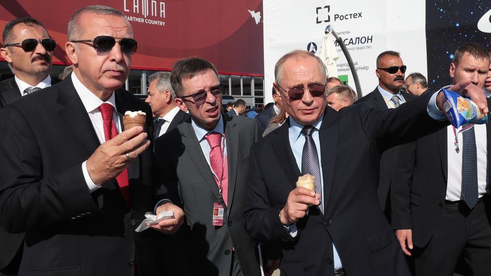 مثلجات بوتين ترفع الحرارة