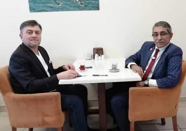 الدكتور الراحل محمد جانبكلي وصديقه