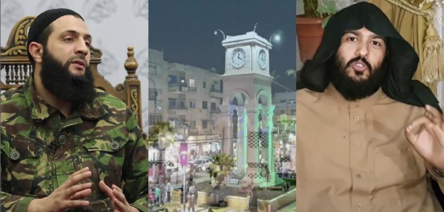 المحيسني يدافع عن المتظاهرين ضد الجولاني في إدلب